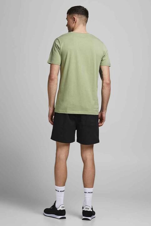 CORE BY JACK & JONES T-shirts (korte mouwen) groen 12193441_OIL GREEN SLIM img2