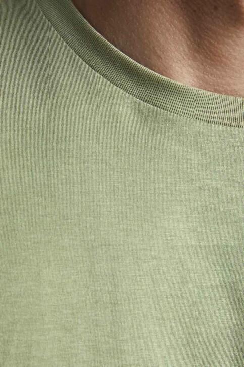 CORE BY JACK & JONES T-shirts (korte mouwen) groen 12193441_OIL GREEN SLIM img3