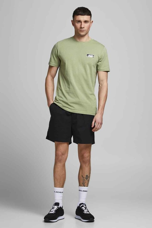 CORE BY JACK & JONES T-shirts (korte mouwen) groen 12193441_OIL GREEN SLIM img5