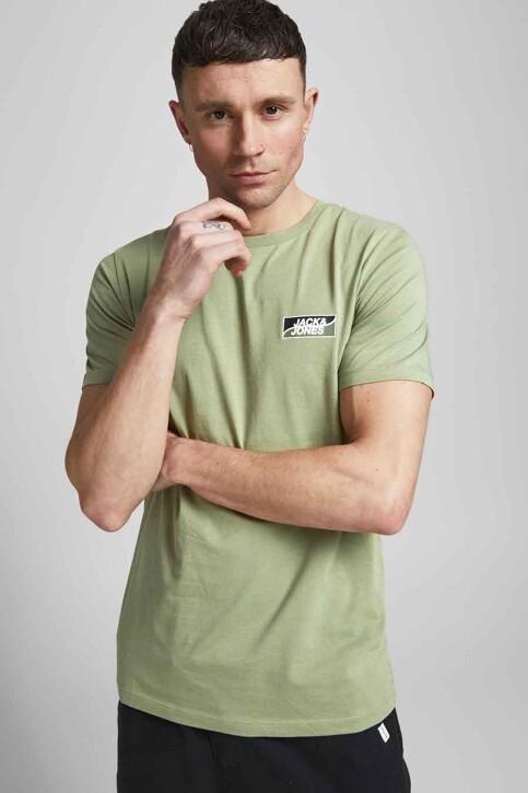CORE BY JACK & JONES T-shirts (korte mouwen) groen 12193441_OIL GREEN SLIM img6