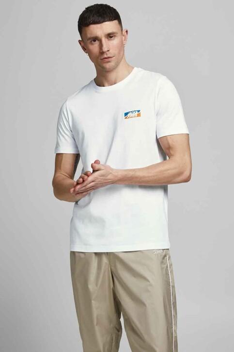 CORE BY JACK & JONES T-shirts (korte mouwen) wit 12193441_WHITE SLIM img1