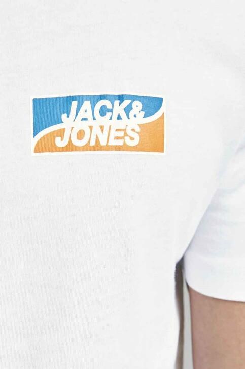 CORE BY JACK & JONES T-shirts (korte mouwen) wit 12193441_WHITE SLIM img3
