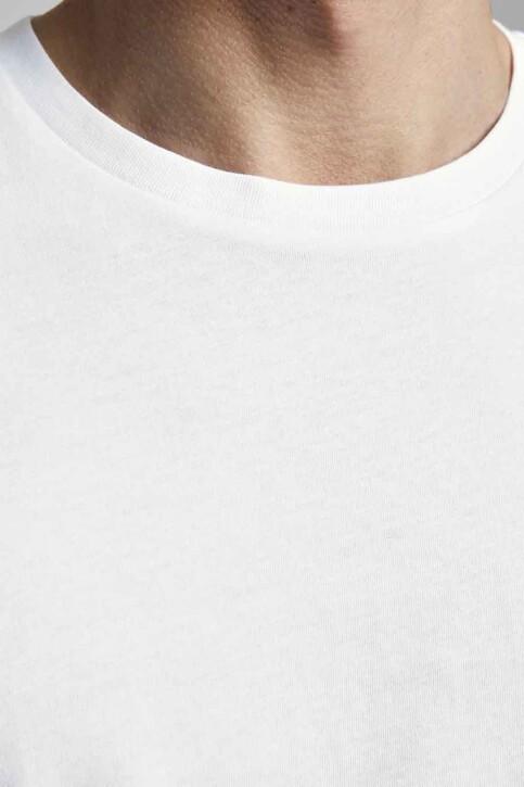 CORE BY JACK & JONES T-shirts (korte mouwen) wit 12193441_WHITE SLIM img4