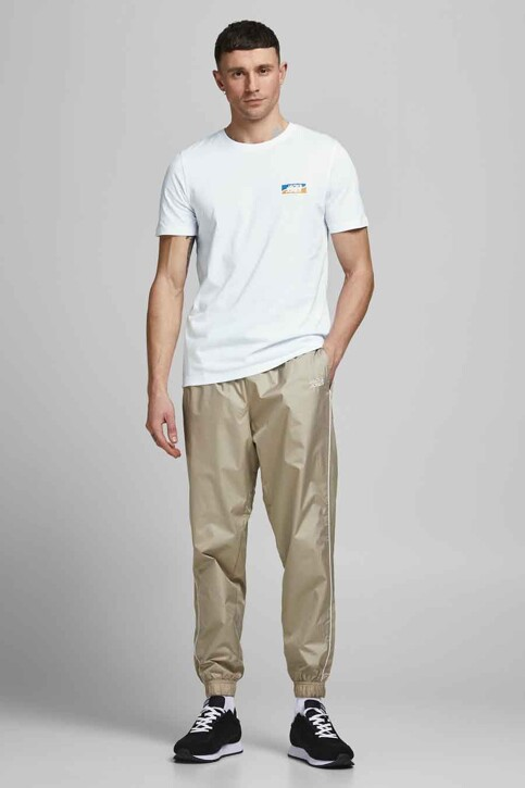 CORE BY JACK & JONES T-shirts (korte mouwen) wit 12193441_WHITE SLIM img5
