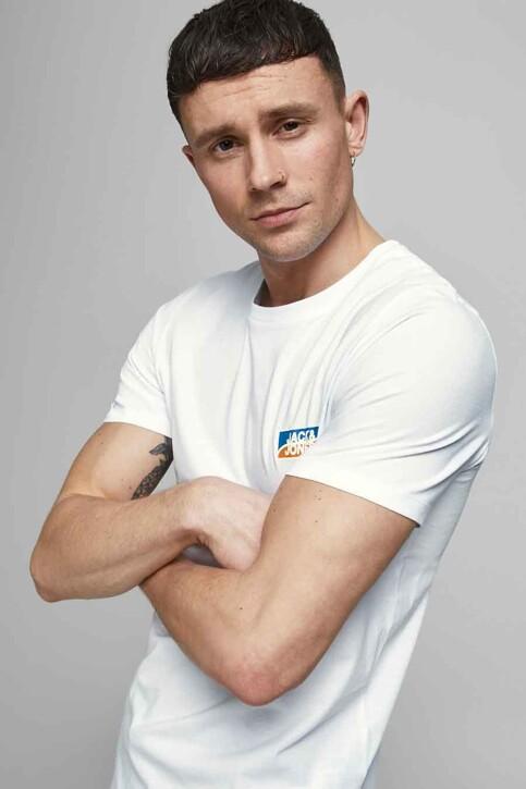 CORE BY JACK & JONES T-shirts (korte mouwen) wit 12193441_WHITE SLIM img6