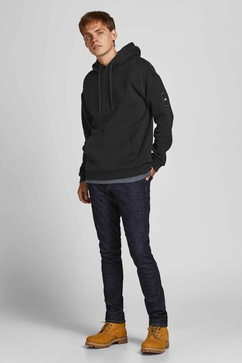 CORE BY JACK & JONES Sweaters met kap zwart 12193489_BLACK RELAXED img1