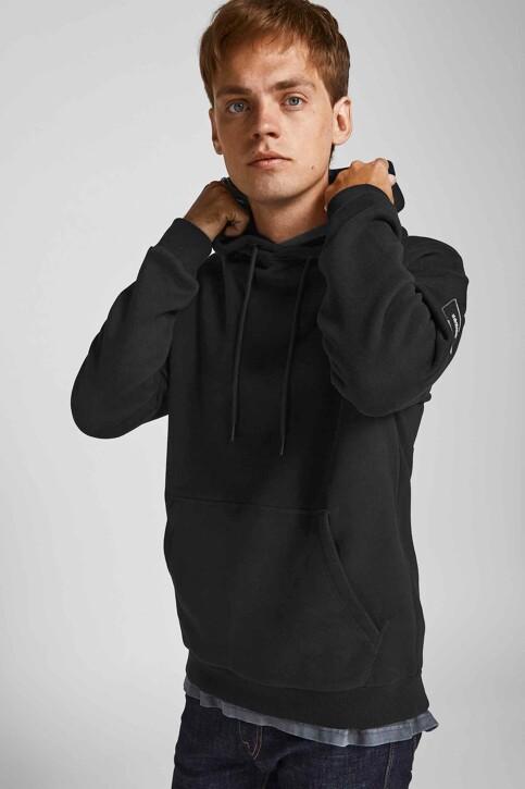 CORE BY JACK & JONES Sweaters met kap zwart 12193489_BLACK RELAXED img2