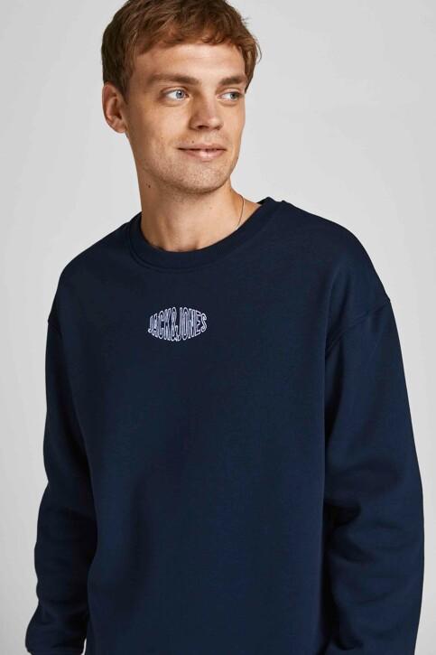 ORIGINALS BY JACK & JONES Sweaters met ronde hals blauw 12194083_NAVY BLAZER REL img2