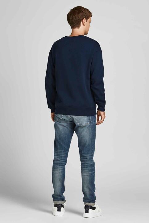 ORIGINALS BY JACK & JONES Sweaters met ronde hals blauw 12194083_NAVY BLAZER REL img3