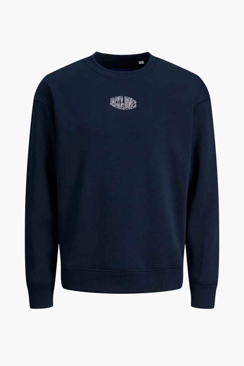 ORIGINALS BY JACK & JONES Sweaters met ronde hals blauw 12194083_NAVY BLAZER REL img4