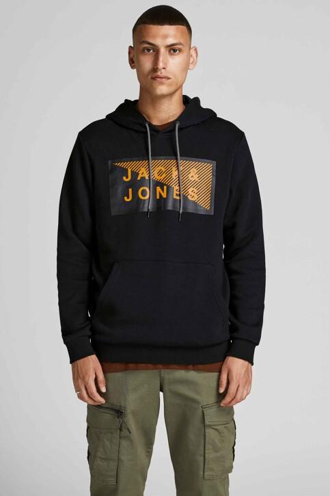 CORE BY JACK & JONES Sweaters met kap zwart 12195903_BLACK img1