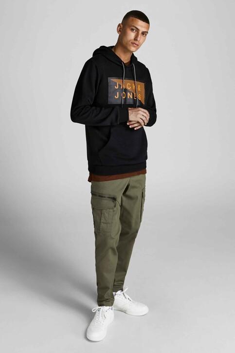 CORE BY JACK & JONES Sweaters met kap zwart 12195903_BLACK img2