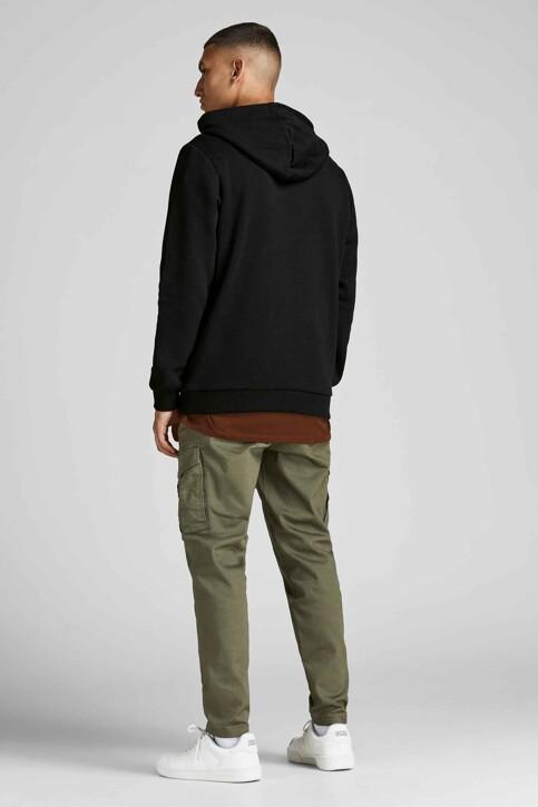 CORE BY JACK & JONES Sweaters met kap zwart 12195903_BLACK img3