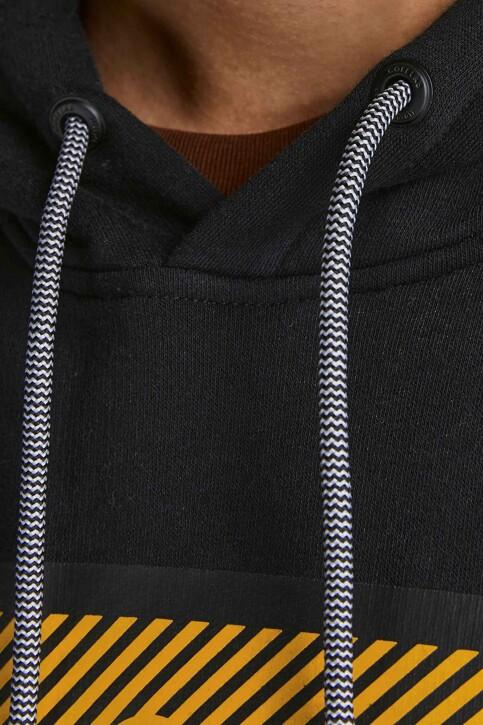 CORE BY JACK & JONES Sweaters met kap zwart 12195903_BLACK img4