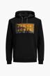 CORE BY JACK & JONES Sweaters met kap zwart 12195903_BLACK img6