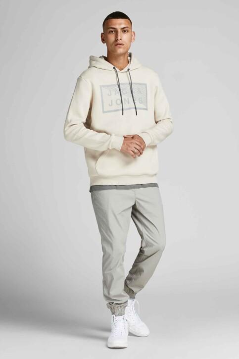 CORE BY JACK & JONES Sweaters met kap beige 12195903_MOONBEAM img1