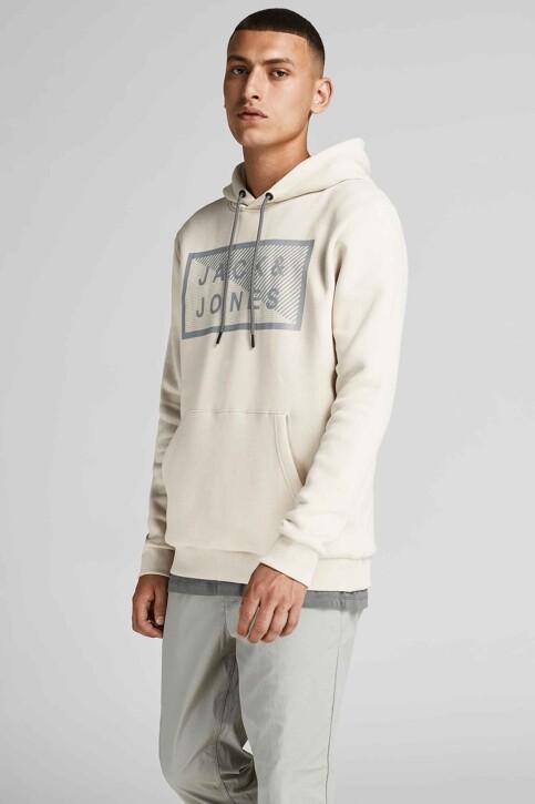 CORE BY JACK & JONES Sweaters met kap beige 12195903_MOONBEAM img2