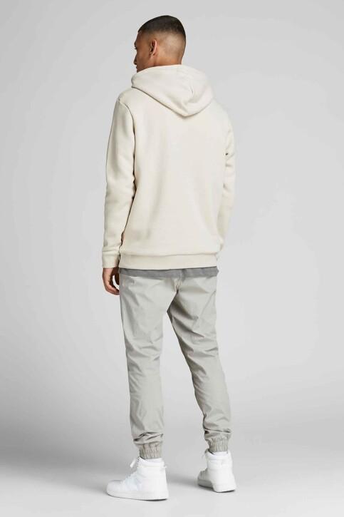 CORE BY JACK & JONES Sweaters met kap beige 12195903_MOONBEAM img3