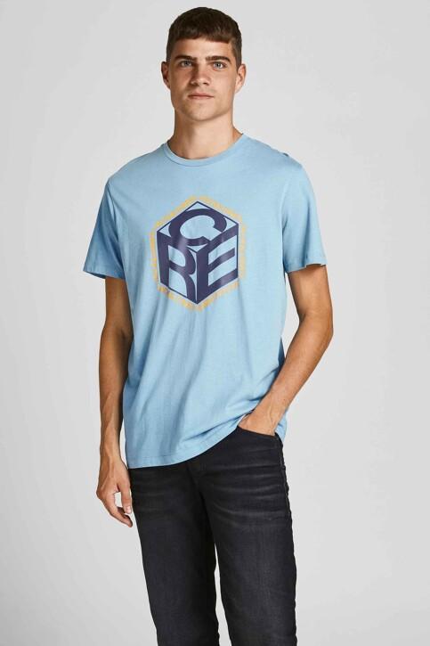 CORE BY JACK & JONES T-shirts (korte mouwen) blauw 12197443_BLUE HEAVEN img1