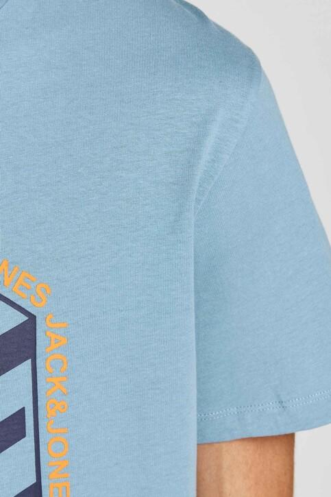 CORE BY JACK & JONES T-shirts (korte mouwen) blauw 12197443_BLUE HEAVEN img4