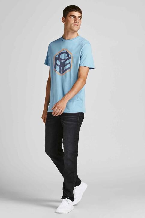 CORE BY JACK & JONES T-shirts (korte mouwen) blauw 12197443_BLUE HEAVEN img6