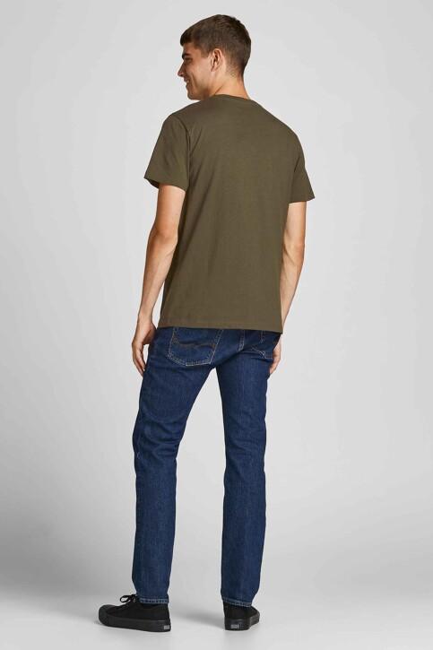 CORE BY JACK & JONES T-shirts (korte mouwen) KHAKI 12197443_FOREST NIGHT img2