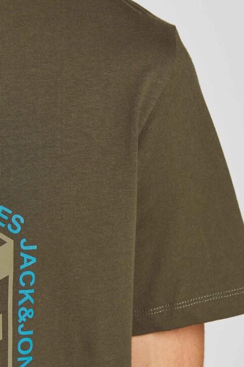 CORE BY JACK & JONES T-shirts (korte mouwen) KHAKI 12197443_FOREST NIGHT img4