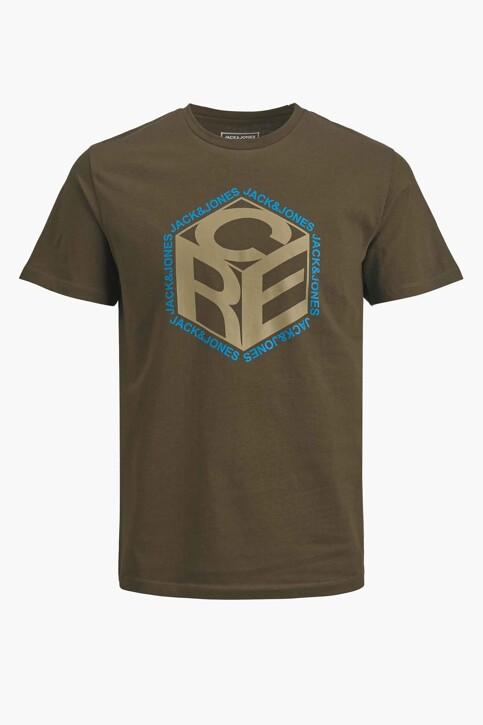 CORE BY JACK & JONES T-shirts (korte mouwen) KHAKI 12197443_FOREST NIGHT img7