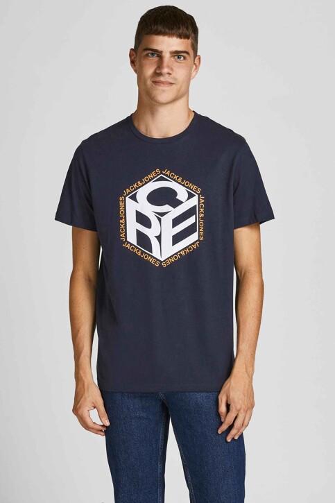 CORE BY JACK & JONES T-shirts (korte mouwen) blauw 12197443_NAVY BLAZER img1
