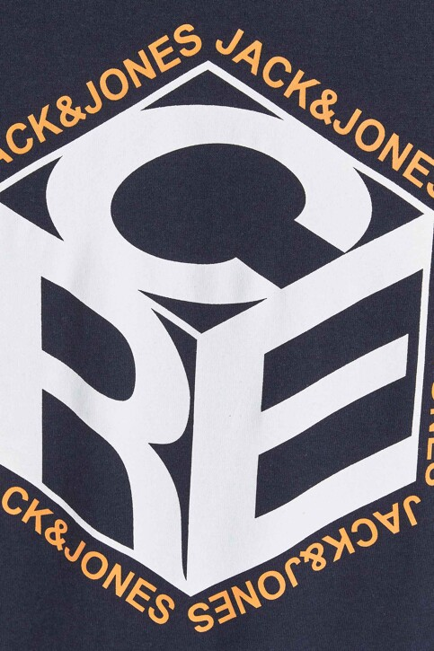 CORE BY JACK & JONES T-shirts (korte mouwen) blauw 12197443_NAVY BLAZER img3