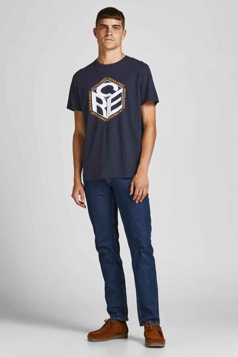 CORE BY JACK & JONES T-shirts (korte mouwen) blauw 12197443_NAVY BLAZER img5