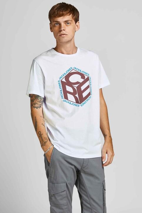 CORE BY JACK & JONES T-shirts (korte mouwen) wit 12197443_WHITE img1