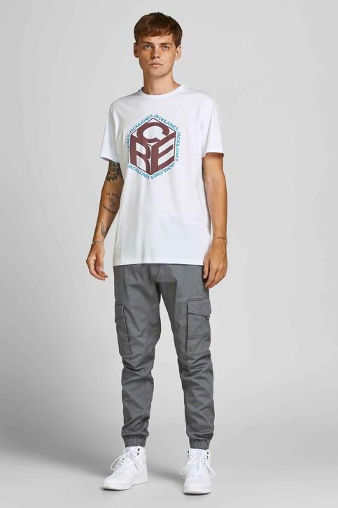 CORE BY JACK & JONES T-shirts (korte mouwen) wit 12197443_WHITE img5