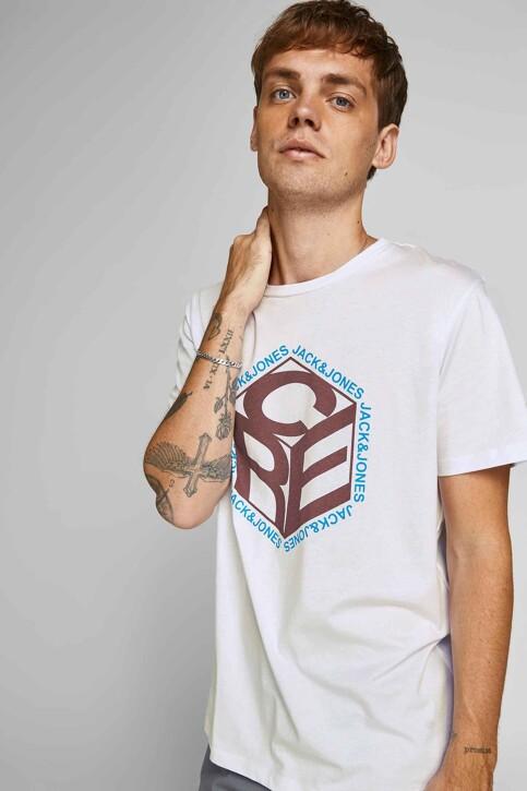 CORE BY JACK & JONES T-shirts (korte mouwen) wit 12197443_WHITE img6