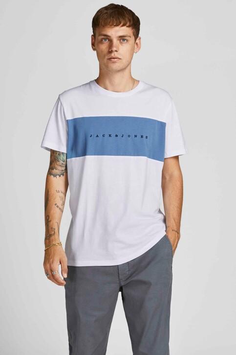 ORIGINALS BY JACK & JONES T-shirts (korte mouwen) wit 12198260_BRIGHT WHITE ST img1