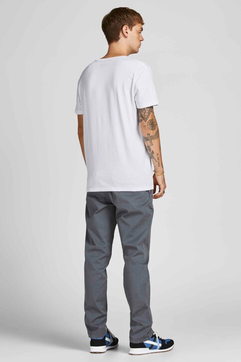 ORIGINALS BY JACK & JONES T-shirts (korte mouwen) wit 12198260_BRIGHT WHITE ST img2