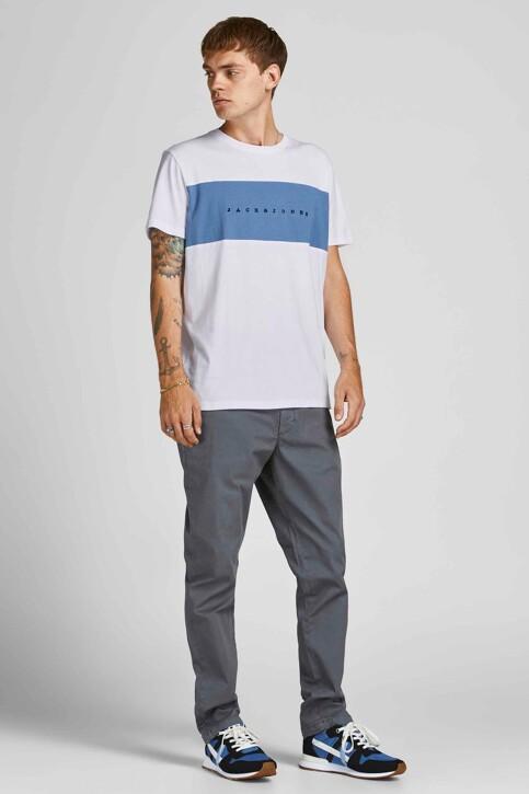 ORIGINALS BY JACK & JONES T-shirts (korte mouwen) wit 12198260_BRIGHT WHITE ST img6