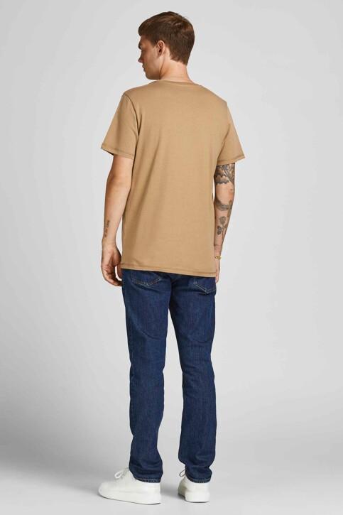ORIGINALS BY JACK & JONES T-shirts (korte mouwen) beige 12198260_MALT BALL STAND img2