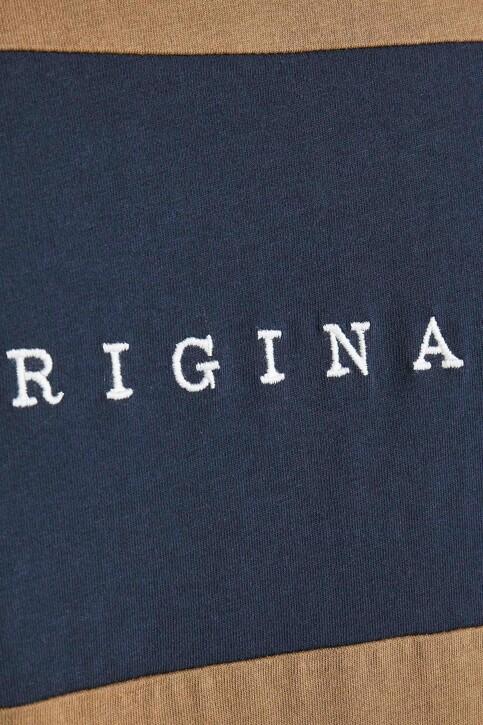 ORIGINALS BY JACK & JONES T-shirts (korte mouwen) beige 12198260_MALT BALL STAND img4