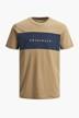 ORIGINALS BY JACK & JONES T-shirts (korte mouwen) beige 12198260_MALT BALL STAND img7