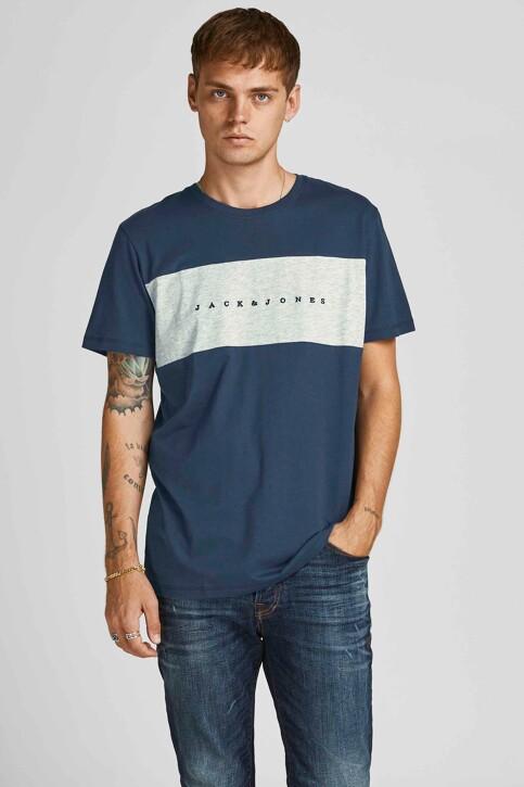ORIGINALS BY JACK & JONES T-shirts (korte mouwen) blauw 12198260_NAVY BLAZER STA img1