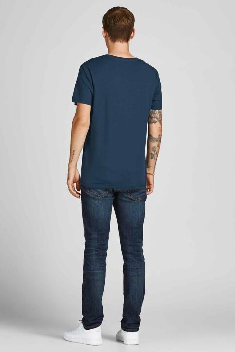 ORIGINALS BY JACK & JONES T-shirts (korte mouwen) blauw 12198260_NAVY BLAZER STA img2