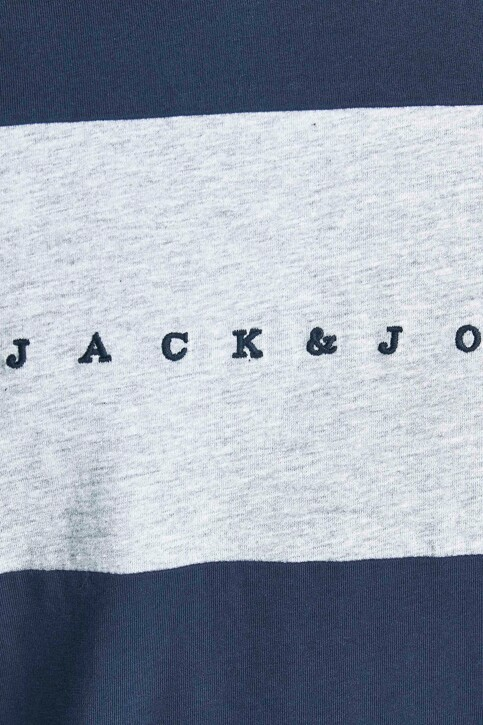 ORIGINALS BY JACK & JONES T-shirts (korte mouwen) blauw 12198260_NAVY BLAZER STA img4
