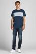 ORIGINALS BY JACK & JONES T-shirts (korte mouwen) blauw 12198260_NAVY BLAZER STA img5