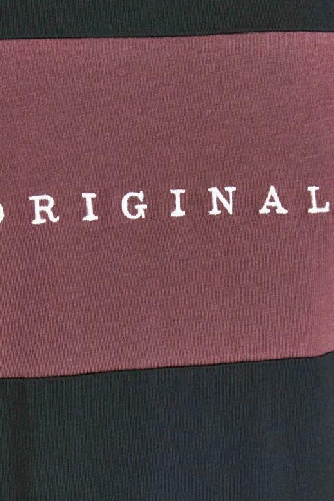 ORIGINALS BY JACK & JONES T-shirts (korte mouwen) zwart 12198260_TAP SHOE STANDA img3