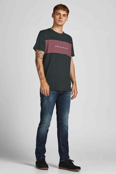 ORIGINALS BY JACK & JONES T-shirts (korte mouwen) zwart 12198260_TAP SHOE STANDA img5