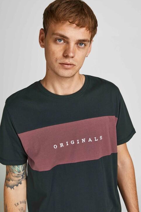 ORIGINALS BY JACK & JONES T-shirts (korte mouwen) zwart 12198260_TAP SHOE STANDA img6