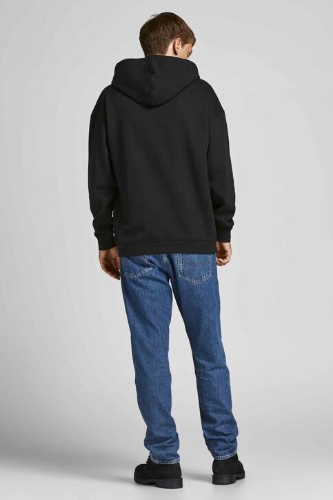 ORIGINALS BY JACK & JONES Sweaters met kap zwart 12204800_BLACK LOOSE img2