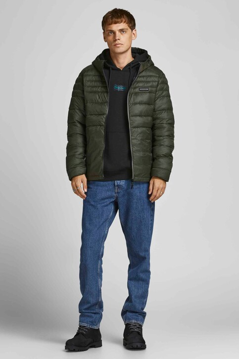 ORIGINALS BY JACK & JONES Sweaters met kap zwart 12204800_BLACK LOOSE img5