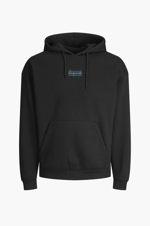 ORIGINALS BY JACK & JONES Sweaters met kap zwart 12204800_BLACK LOOSE img7